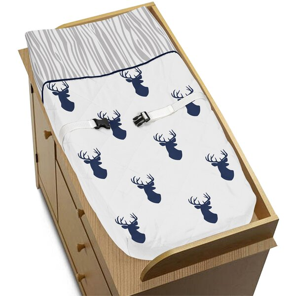 Woodland Deer Changing Pad Cover by Sweet Jojo Designs