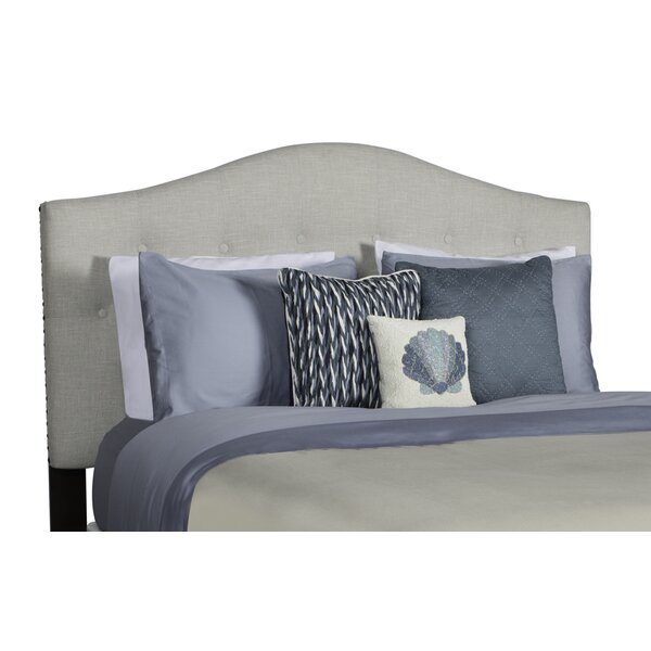 Anguila Upholstered Panel Headboard by Rosecliff Heights