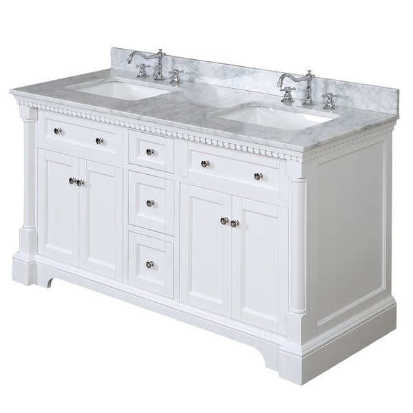 Sydney 60 Double Bathroom Vanity Set by Kitchen Bath Collection