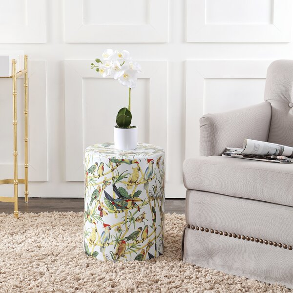 Forrester Garden Stool by Bay Isle Home Bay Isle Home