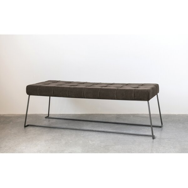 Pridgen Upholstered Bench by Foundry Select
