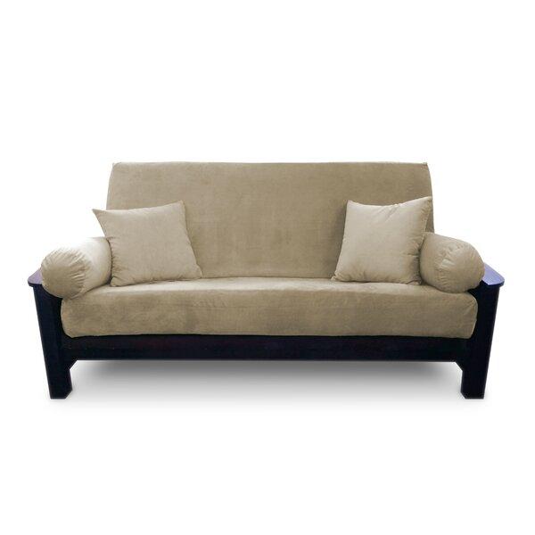 Simoes Box Cushion Futon Slipcover (Set Of 3) By Latitude Run