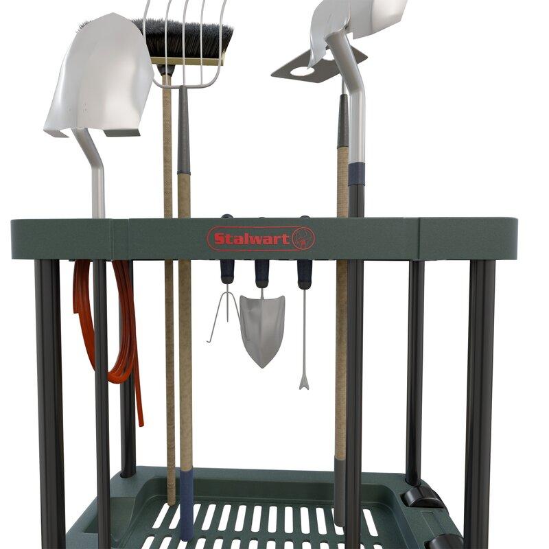 rolling garden tool rack - Garden Tool Rack