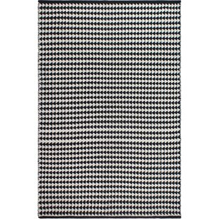 Compare prices Zen Hand-Woven Black/White Area Rug By Fab Habitat