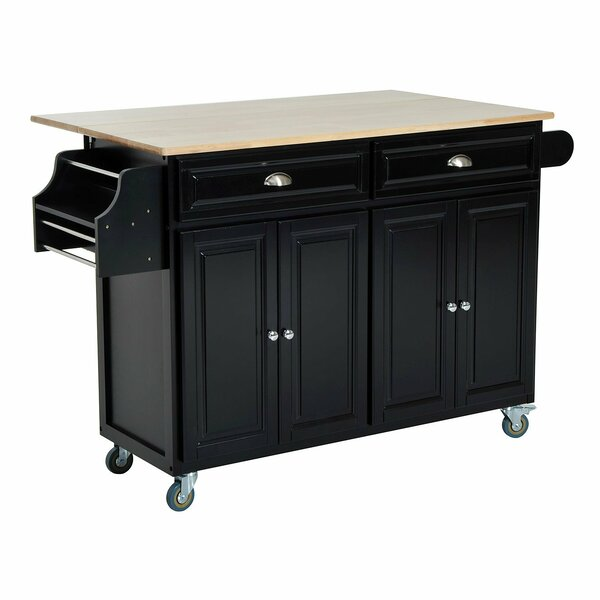 Evans Kitchen Cart by Winston Porter