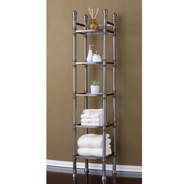 Monte Carlo 14 W x 67 H Bathroom Shelf by Fox Hill Trading