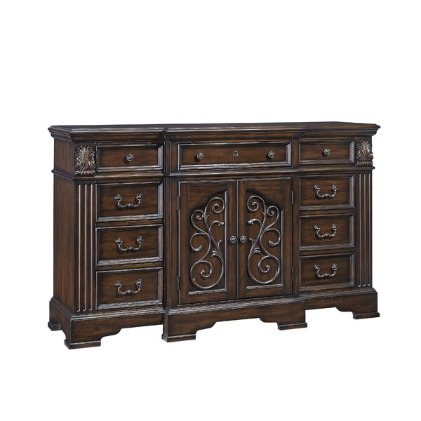 Corene 9 Drawer Combo Dresser by Fleur De Lis Living