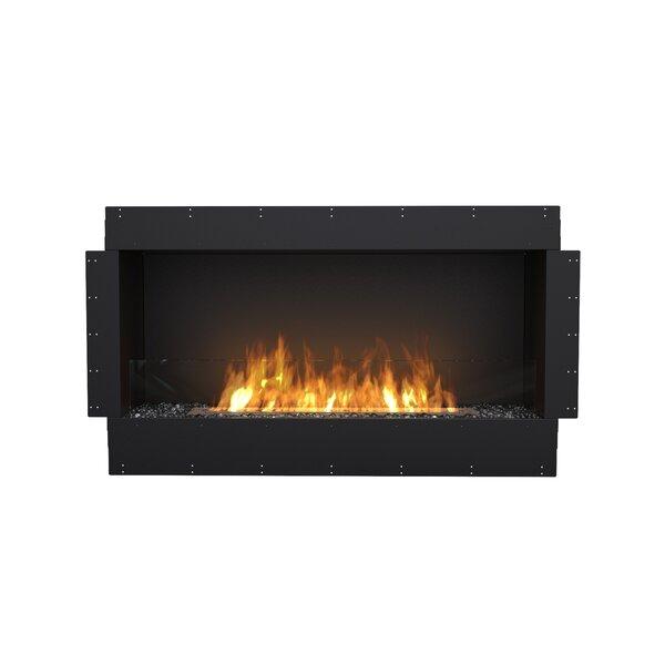 FLEX50 Single Sided Wall Mounted Bio-Ethanol Fireplace Insert by EcoSmart Fire