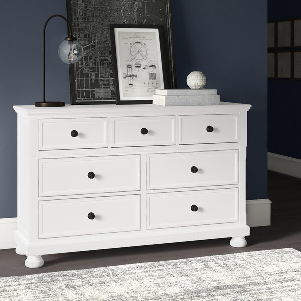 Hoch Transitional 7 Drawer Dresser By Alcott Hill by Alcott Hill Today Sale Only