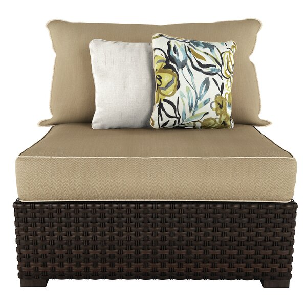 Bergin Patio Chair with Cushions by Darby Home Co
