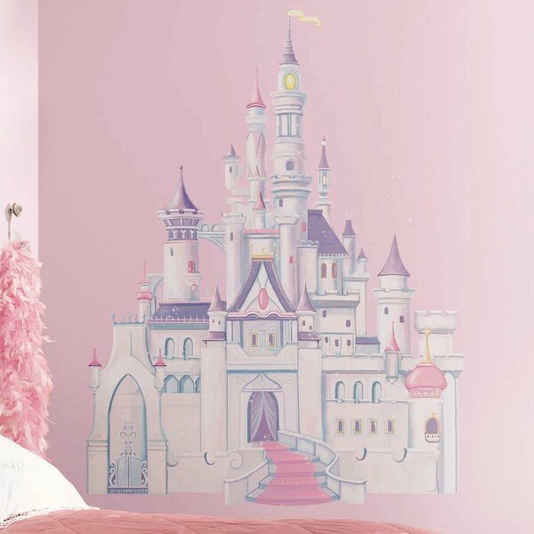 Disney Princess Castle Wall Decal by Room Mates