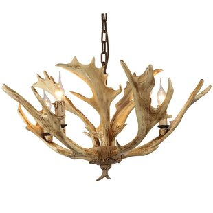faux antler chandelier wayfair ca