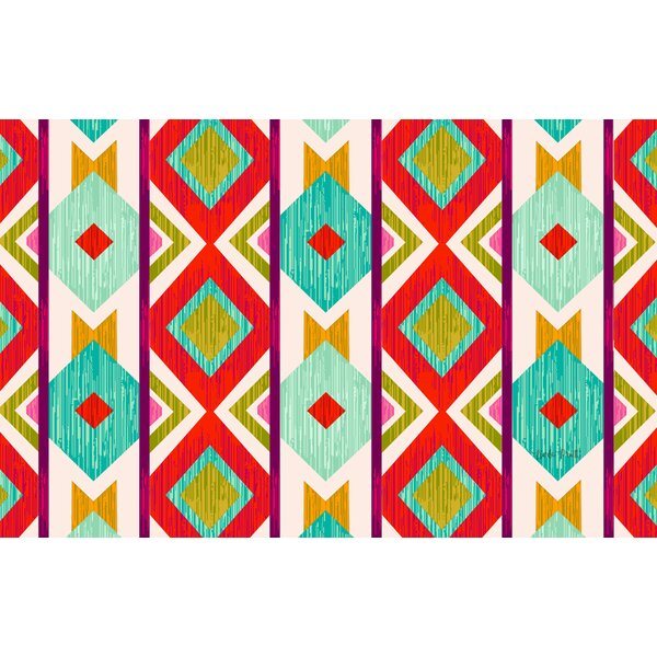 Ikat Area Rug by Manual Woodworkers & Weavers