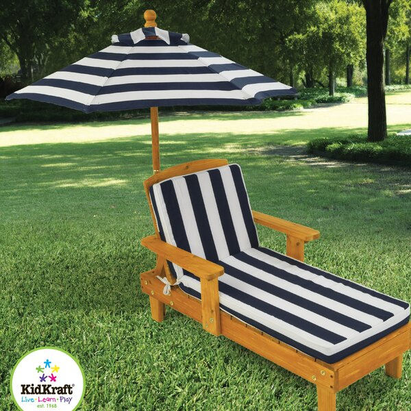 Chaise Lounge with Cushion by KidKraft KidKraft