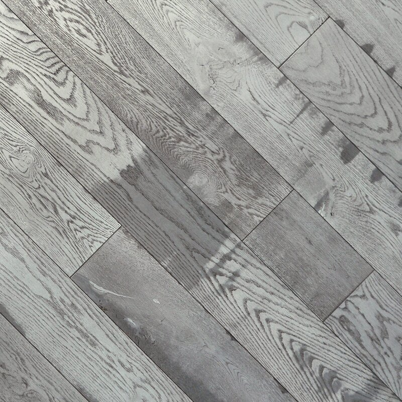 Timber Lodge 7 1 2 Engineered Oak Hardwood Flooring In Snowcap