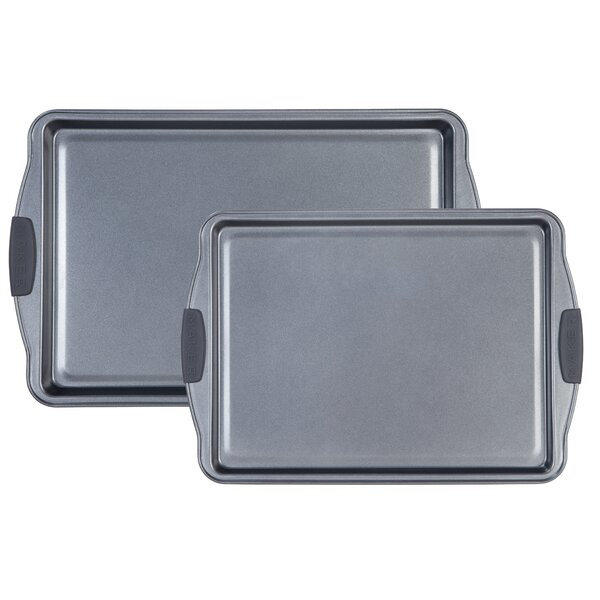 Non-Stick Cookie Sheets (Set of 2) by MAKER Homewa