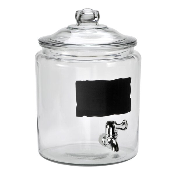 Heritage Hill 2 Gallon Beverage Dispenser by Anchor Hocking