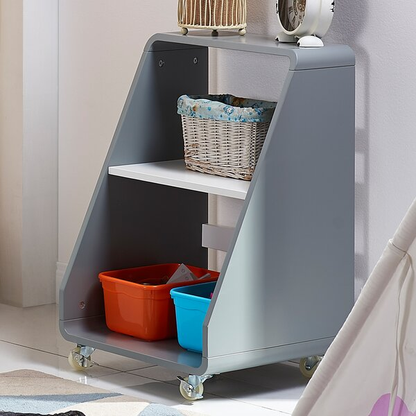 Pulire Sloped-Shelf Book Cart by VERSANORA