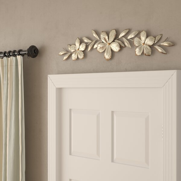 Flower Over the Door Wall Décor by Bay Isle Home