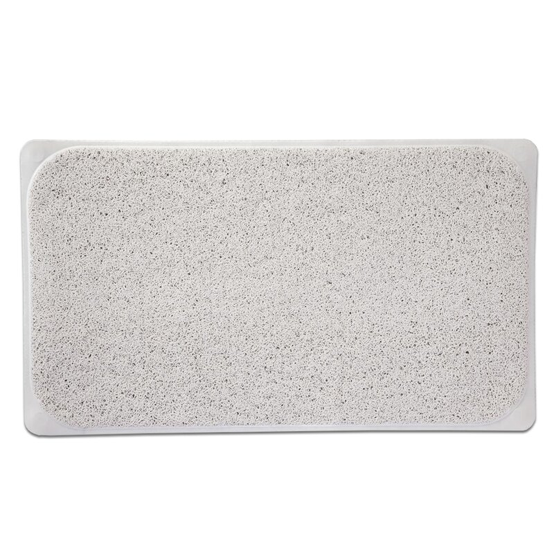 Loofah Premium Woven Non Slip Bathtub Shower Mat. Sweet Home Collection Loofah Premium Woven Non Slip Bathtub Shower