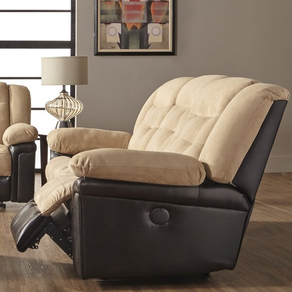 Currahee Upholstery Wall Hugger Recliner by Red Barrel Studio