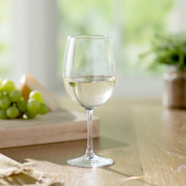 Wayfair Basics 19 oz. White Wine Glass Set (Set of 4) by Wayfair Basics™