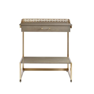 Stone Leigh Bar Cart Birch Kitchen Carts