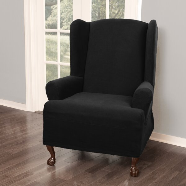 Up To 70% Off T-Cushion Wingback Slipcover