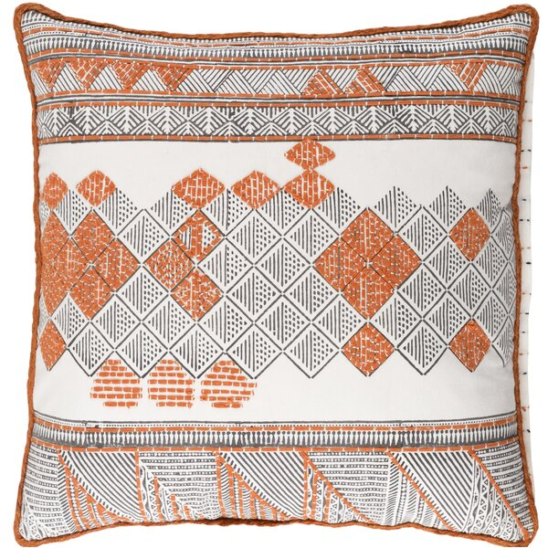 Andres Cotton Throw Pillow by Bloomsbury Market