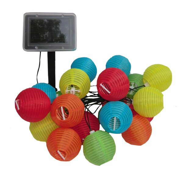 Solar 20-Light Lantern String Lights by Smart Solar