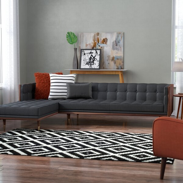 Carey Mid-Century Sectional by Corrigan Studio