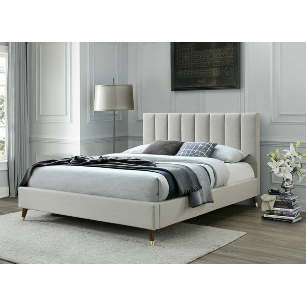 Howland Queen Upholstered Platform Bed by George Oliver