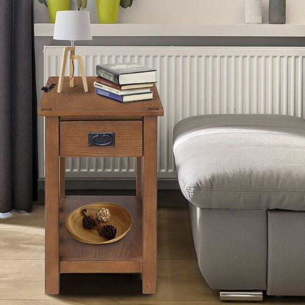 Talavera End Table with Storage by Winston Porter