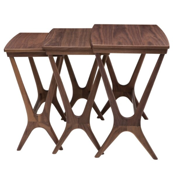 Legette 3 Piece Nesting Tables by George Oliver George Oliver
