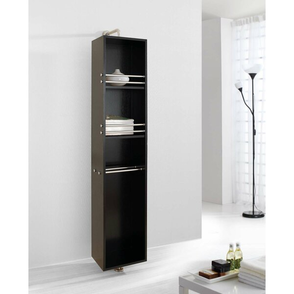 Marcel 13.8 W x 66.9 H Wall Mounted Cabinet by Virtu USA