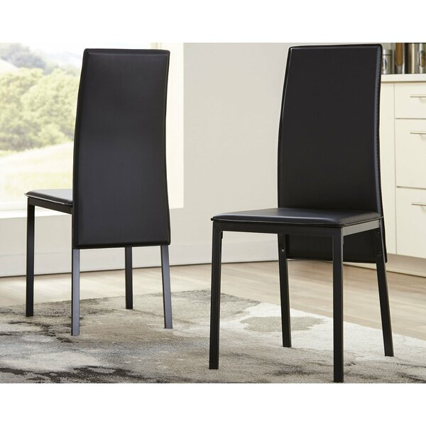 Halesowen Upholstered Dining Chair (Set of 2) by Orren Ellis