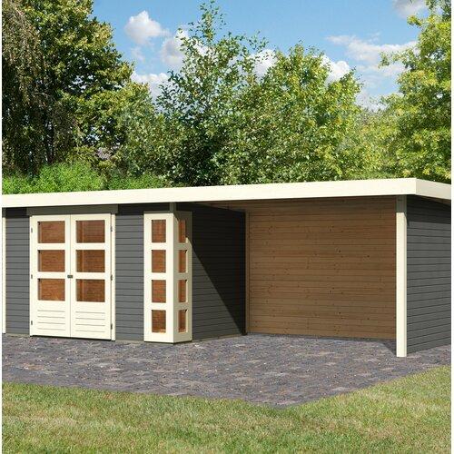 557 cm x 217 cm Gartenhaus Kerko 4 Woodfeeling | Garten > Gartenhäuser | Woodfeeling