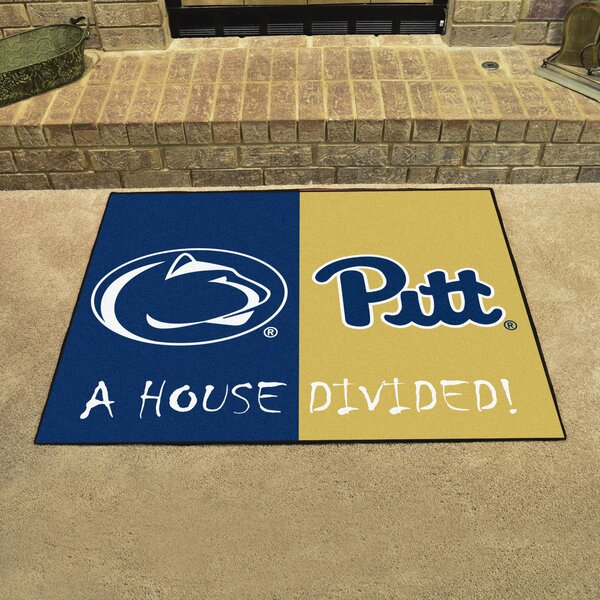 House Divided - Penn State / Pittsburgh Doormat by FANMATS