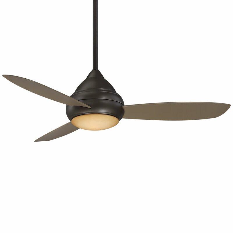 "Oil Rubbed Bronze Minka Aire F727-ORB Rudolph 52/"" 3 Blade Ceiling Fan"
