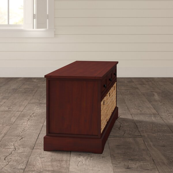 Ottilie Drawer Storage Bench by Andover Mills