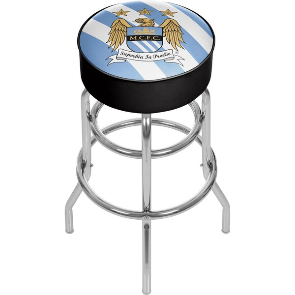English Premier League 31 Swivel Bar Stool by Trademark Global
