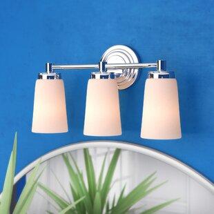 Inexpensive Figueroa 3-Light LED Vanity Light By Ebern Designs