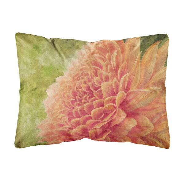Shortridge Floral by Malenda Trick Fabric Indoor/Outdoor Throw Pillow by Winston Porter
