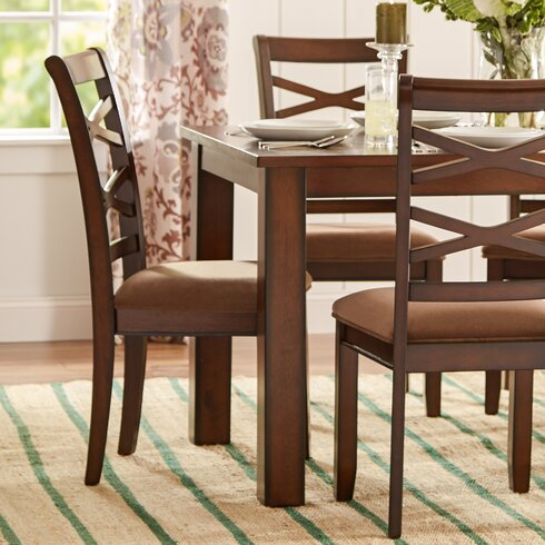 Crossback 7 Piece Dining Set
