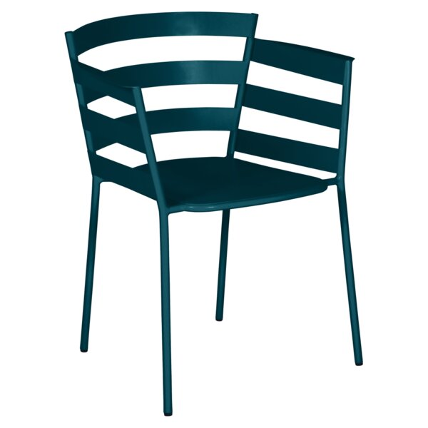 Rythmic Stacking Patio Dining Chair (Set of 2) by Fermob