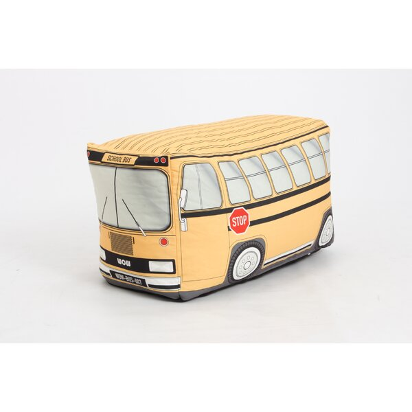 School Bus Bean Bag Chair by Zoomie Kids