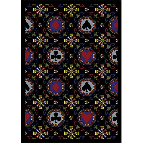 Black Area Rug by The Conestoga Trading Co.