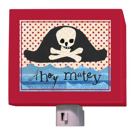 Pirate Hat Night Light by Oopsy Daisy
