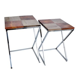 Cossey 2 Piece End Table Set