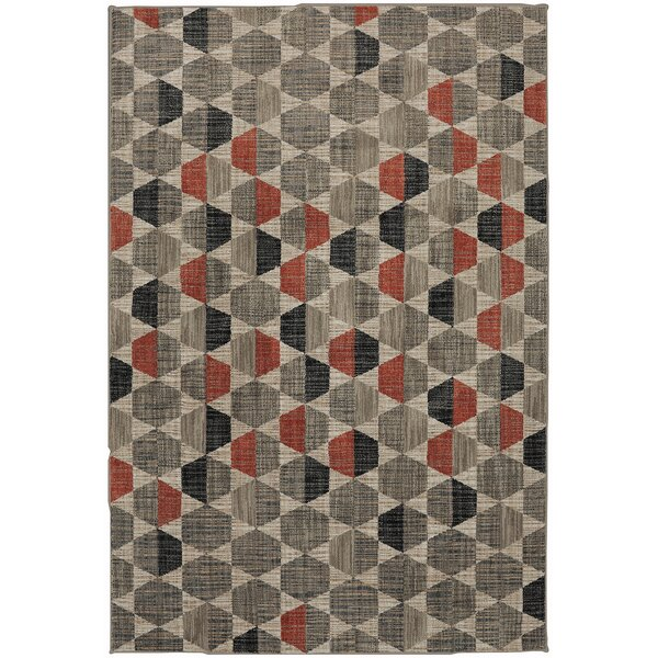 Metropolitan Taupe/Gray Area Rug by Mohawk Home